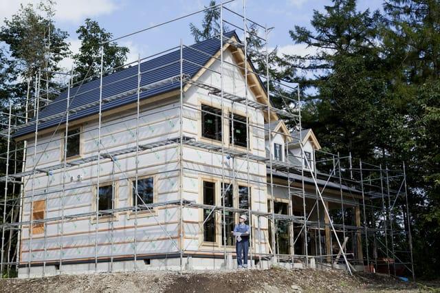 戸建ての建設