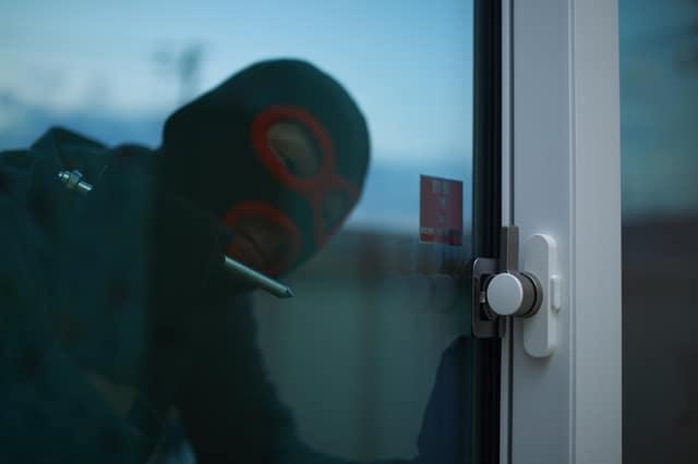 窓からの侵入者