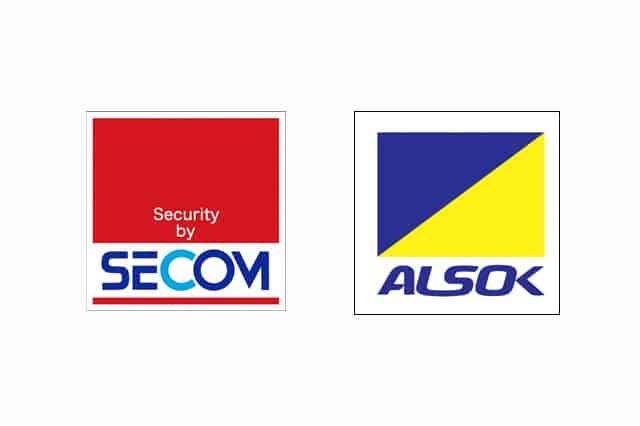 セコムとアルソックのロゴ